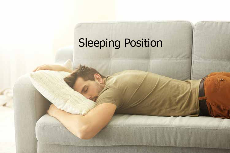 what is the healthiest way to sleep