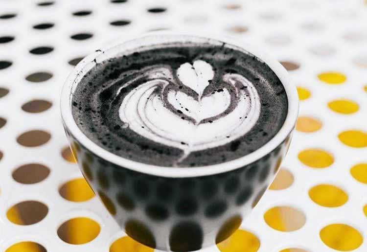 How to make Black Latte