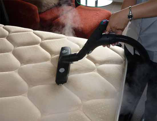 What are the methods to clean the mattresses that are wet