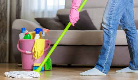 How to Clean the House Simply and Easily