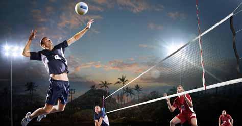 Basic 6 Skills of Volleyball