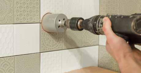 Holes In Ceramic Tiles