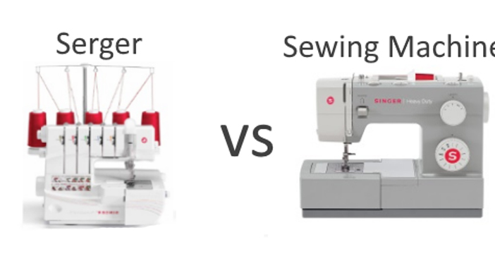 When to Use A Serger Vs Sewing Machine?