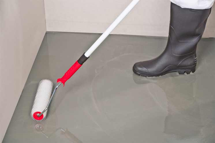 How does Self-Leveling Concrete Work