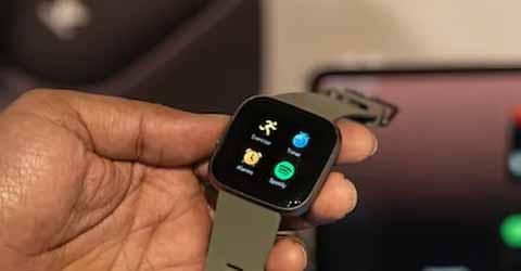 Smartwatch Track