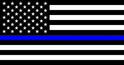 Things about thin blue line flag