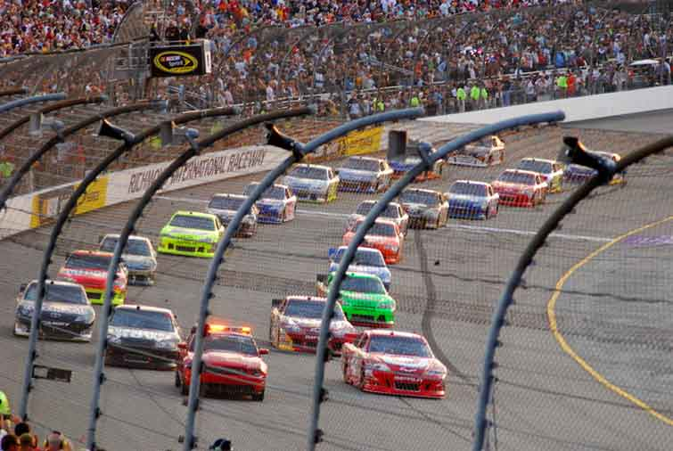 NASCAR Sprint Cup Driver Mark Martin Goes for it All One Last Time