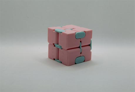 Here are some ideas for infinity cube fidgets