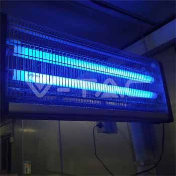 How can you attract mosquitoes towards bug zapper